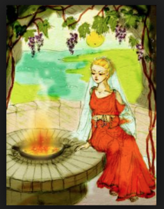 vesta the roman goddess of heart and fire essay Vesta, often identified (but not to be confused with) the greek goddess hestia, was the roman goddess of the hearth she was worshiped in a temple with a sacred fire, burning continuously, watched over by vestal virgins .