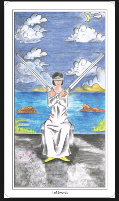 Two of Swords – the Lord of Reborn World – The tarot