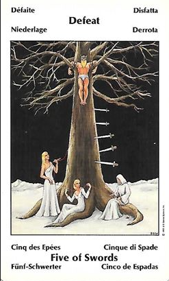 Five of Swords – the Lord of Defeat – The tarot